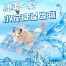 倉鼠陶瓷窩冰墊夏天降溫板消暑刺猬金絲熊大理石冰床冰窩倉鼠用品 快速出貨