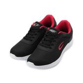C&K 輕量休閒跑鞋 黑紅 男鞋 鞋全家福