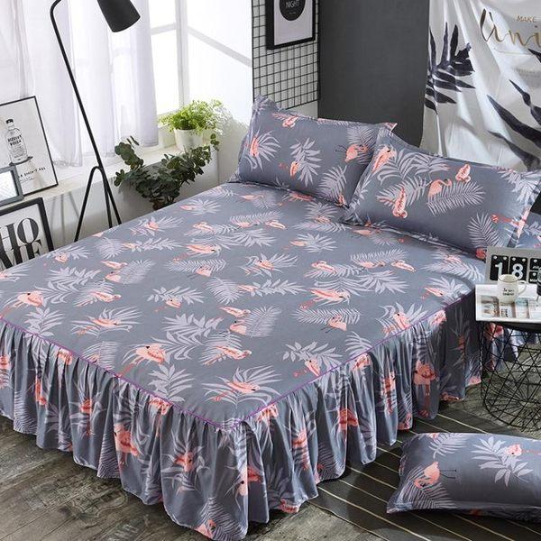 鋪棉床罩組舖棉加厚床裙200x220公分席夢思床墊保護床罩 單件床套加棉保潔墊