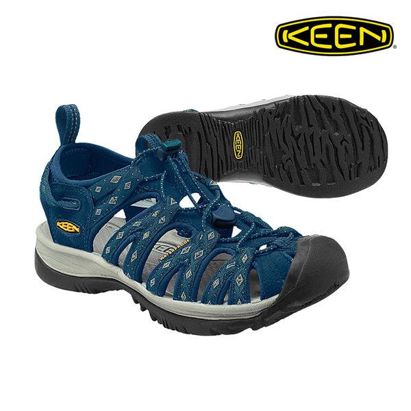 KEEN 織帶涼鞋Whisper 1014206《女款》/ 城市綠洲 (水陸兩用.輕量.戶外休閒鞋.運動涼鞋)
