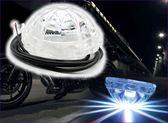 273A078  【好康汽機車商品專櫃】圓形七彩燈 單入  汽機車  LED  氣氛燈  警示燈 工作燈