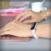 小米手環3腕帶黑色金屬配件運動防水三代男女通用款替換智慧表帶 桃園百貨
