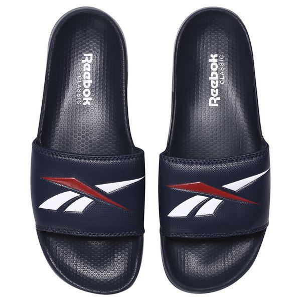REEBOK Classic Slide 男鞋 女鞋 拖鞋 基本款 輕量 舒適 深藍 紅 白【運動世界】CN0211