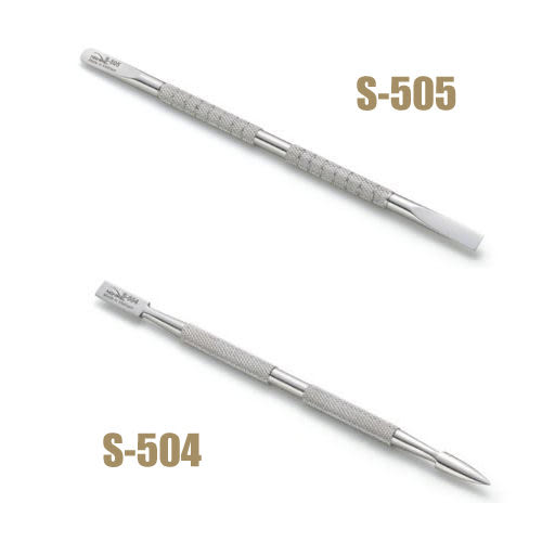 NGHIA專業不鏽鋼鋼推棒 美甲師必備 (S504/S505)