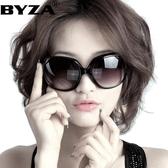 新款偏光太陽鏡女士圓臉款墨鏡女韓版潮大臉顯瘦防紫外 優尚良品