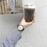 小清新手錶 學院派森女學生韓版簡約ulzzang復古大氣休閒男石英表 夏洛特居家