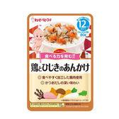 日本 KEWPIE HR-6 蔬菜雞肉燒汁隨行包(12個月以上適用)