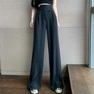 大尺碼女裝大碼女裝2020夏裝新款寬松顯瘦百搭垂感高腰闊腿褲女胖妹妹直筒褲