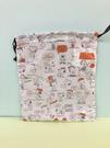 【震撼精品百貨】史奴比_Peanuts Snoopy ~SNOOPY縮口袋-白朋友M#76563