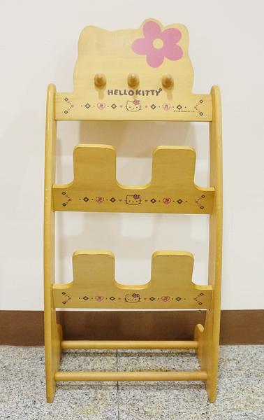 【震撼精品百貨】Hello Kitty 凱蒂貓~大方巾~鞋架-花【共1款】