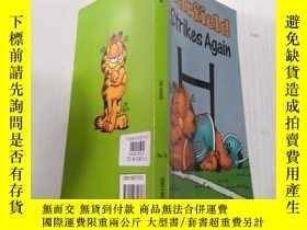 二手書博民逛書店Garfield罕見strikes again:加菲貓又來了Y212829