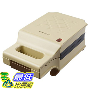 [東京直購] recolte 奶油黃 PRESS SAND MAKER Quilt RPS-1(BE) 格子三明治機