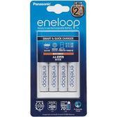 國際 Panasonic eneloop 兩小時快速充電器組 含三號電池4入 K-KJ16MCC4TW (BQ-CC16+BK-3MCCE*4)