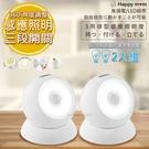 2入組【幸福媽咪】360度人體感應電燈LED自動照明燈/壁燈(ST-2137)三用/人來即亮
