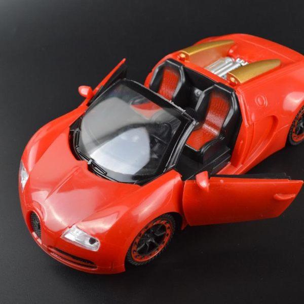 1:24二通方向盤開門遙控車 兒童玩具電動遙控模型車 【韓衣舍】