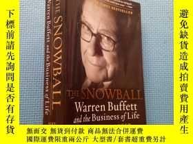 二手書博民逛書店THE罕見SNOWBALL Warren Buffett and