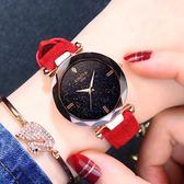 防水女士手錶女錶學生韓版簡約時尚潮流休閒大氣新款