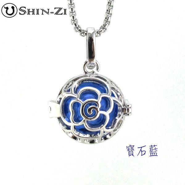 玫瑰款項鍊 手工飾品項鍊 琉璃項鍊 精油項鍊 免塞式項鍊 琉璃瓶項鍊 飾品項鍊 不鏽鋼項鍊