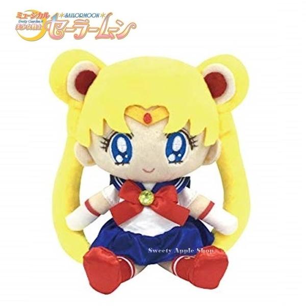 日本限定 美少女戰士 月亮水手 絨毛玩偶娃娃