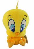【卡漫城】 崔弟 絨毛 玩偶 19公分 ㊣版 娃娃 Tweety 金絲雀 娃娃 布偶 小黃鳥 崔蒂 擺飾 吊飾 佈置