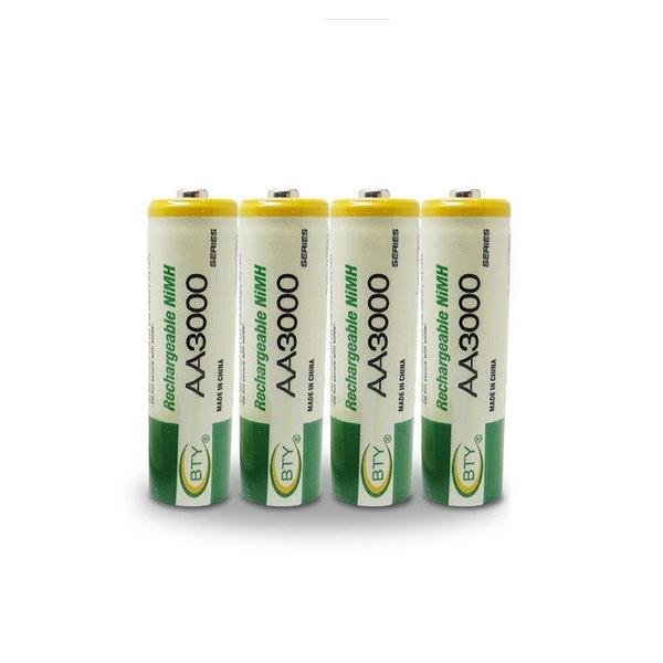 【DQ209】BTY鎳氫電池3號(1入)電池AA3000 玩具鍵盤滑鼠 充電電池★EZGO商城★