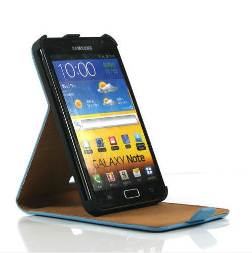 現貨免運 三星Samsung Galaxy note  i9220上下開 皮革手機套