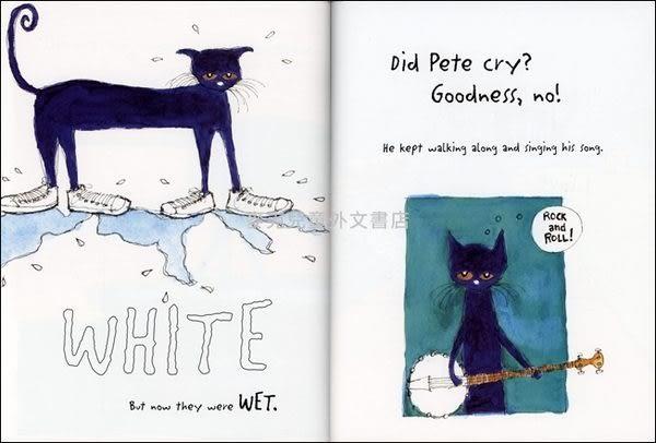 『繪本123‧吳敏蘭老師書單』--PETE THE CAT: I LOVE MY WHITE SHOES /平裝繪本