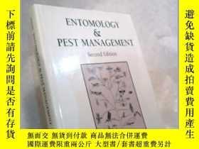 二手書博民逛書店Entomology罕見And Pest Management-昆蟲學與病蟲害防治Y436638 Larry