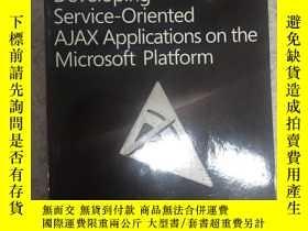 二手書博民逛書店Developing罕見Service-oriented AJA