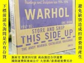 二手書博民逛書店The罕見Andy Warhol Catalogue Raiso