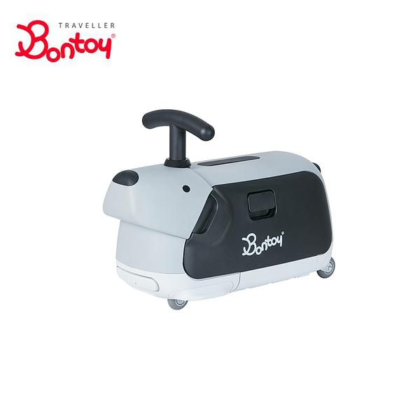 Bontoy 兒童滑步騎乘行李箱-雪橇犬哈士奇