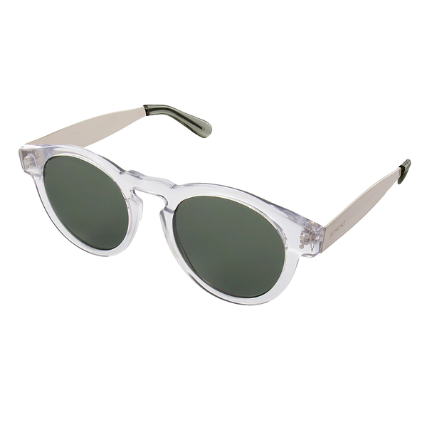 KOMONO 太陽眼鏡 Clement 克萊蒙金屬系列-清透x銀