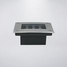 LED太陽能地底燈  附LED黃光3粒