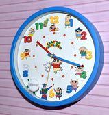 蠟筆小新 時鐘 掛鐘 靜音 日本帶回正版商品