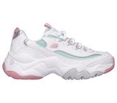 Skechers D Lites 3.0 [12954WPMT] 女鞋 運動 休閒 老爹 復古 經典 舒適 穿搭 白粉