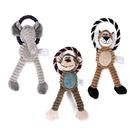 動物圈圈寵物絨毛玩具(寵物耐咬玩具)