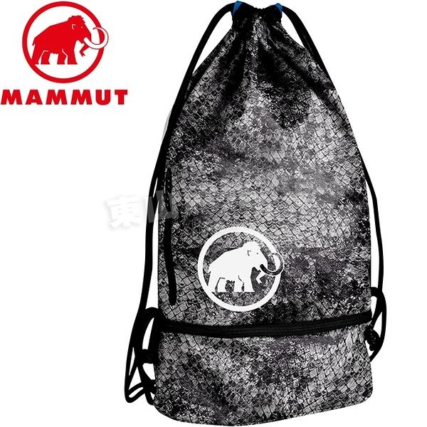 Mammut長毛象 2050-00100-0283蛇紋 休閒側背包束口袋 Magic Gym運動背袋/攻頂包/健身後背包