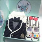 嬰兒春秋冬款禮盒新生兒棉質衣服套裝初生男寶寶送禮套盒滿月禮物 XW