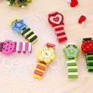 甜美可愛韓版玩具手錶兒童手錶裝飾手環木制...
