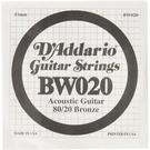 [唐尼樂器] Daddario 纏繞弦 零弦 單弦 民謠吉他 22/23/24/30/32