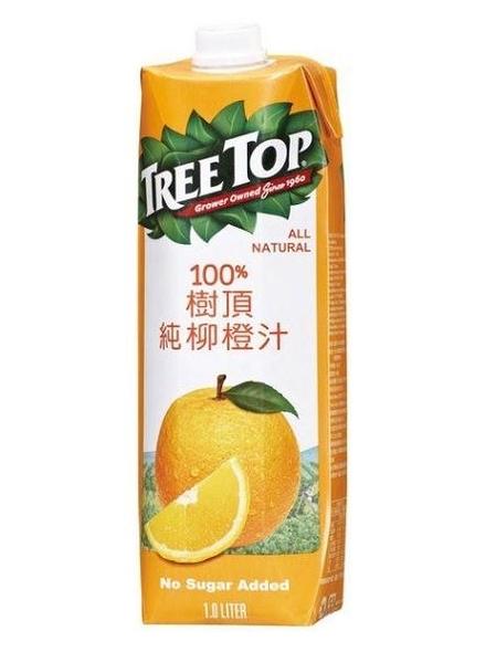 樹頂純柳橙汁1000ml/瓶【合迷雅好物超級商城】