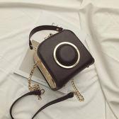 趙麗穎同款包包新款相機包時尚手提小方包單肩斜背包鍊條小包 衣櫥の秘密