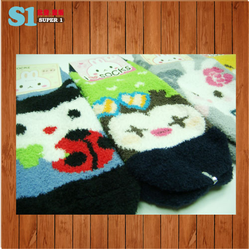 限量發售 寒冬必備~韓國進口可愛動物保暖襪子SM-621716 HFPWP 超聯捷