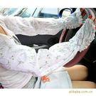 薇嘉雅  蕾絲花邊加長防曬防袖手套
