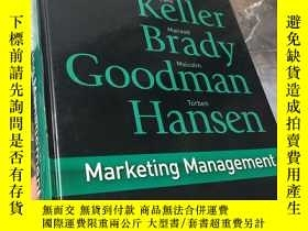 二手書博民逛書店Marketing罕見Management: First Eur