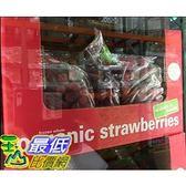 [COSCO代購] W534228 Nature s Touch 有機冷凍草莓 2.72 公斤 2組裝