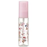 小禮堂 Hello Kitty 隨身透明噴霧空瓶 塑膠噴霧罐 酒精噴瓶 分裝瓶 30ml (粉 滿版) 4973307-51220