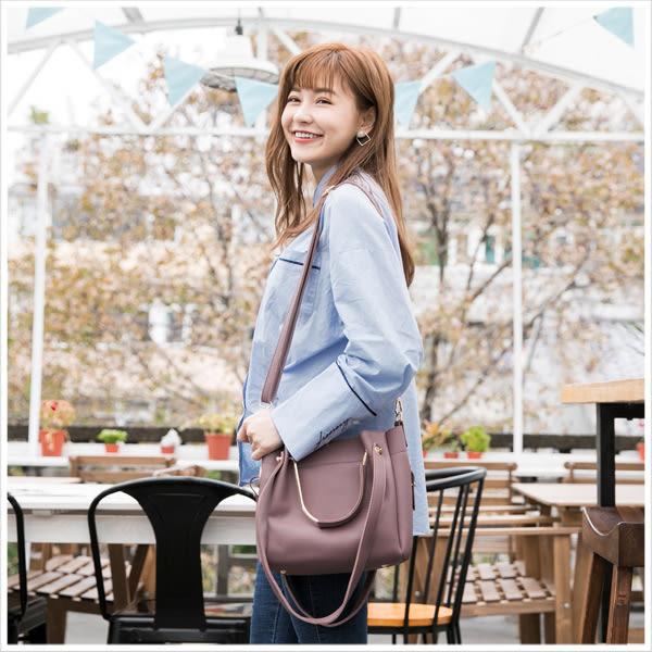包中包-韓版率性金屬斜背/手提/肩背包-共7色-A15152033-天藍小舖