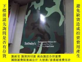 二手書博民逛書店SOTHEBY'S罕見Contemporary Chinese