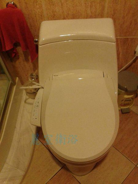 【麗室衛浴】E'LOO 免治馬桶蓋 可合裝KOHLER K-3434 /3386 單體馬桶